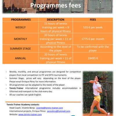 programmes feel